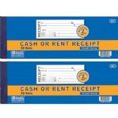 144 Units of BAZIC 50 Sets 2-Part Cash or Rent Receipt w/ Carbon - Sales Order Book