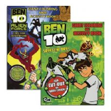 48 Units of BEN 10 Giant Coloring & Activity Book - Coloring & Activity Books