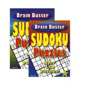 96 Units of Brain Teaser Sudoku Puzzle Book - Crosswords, Dictionaries, Puzzle books