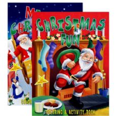 72 Units of CHRISTMAS Coloring & Activity Book - Coloring & Activity Books