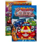 48 Units of CRAZY CARZZZ Libro Para Colorear Y Actividades - Coloring & Activity Books