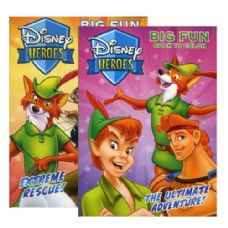 36 Units of DISNEY HEROES Coloring Book - Coloring & Activity Books