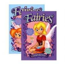 48 Units of FAIRIES FOIL & EMBOSSED Coloring & Activity Book - Coloring & Activity Books