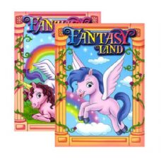48 Units of FANTASY LAND Coloring & Activity Book - Coloring & Activity Books