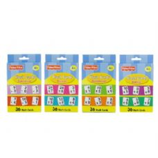 48 Units of FISHER-PRICE Math Series Flash Cards (36/Pack) - Teacher / Student