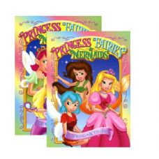 48 Units of GIRL'S TRIO (Princess- Fairies-Mermaids) Coloring & Activity Book - Coloring & Activity Books