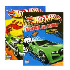 48 Units of HOT WHEELS Giant Coloring & Activity Book - Coloring & Activity Books