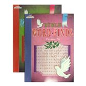 96 Units of KAPPA Bible Series Word Finds Puzzle Book - Crosswords, Dictionaries, Puzzle books