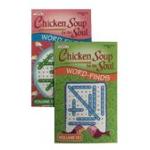 24 Units of KAPPA Chicken Soup For The Soul Word Finds Puzzle Book - Digest Size - Crosswords, Dictionaries, Puzzle books