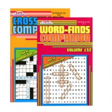 48 Units of KAPPA Companion Series Puzzle Book - Digest Size - Crosswords, Dictionaries, Puzzle books
