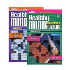 48 Units of KAPPA Healthy Minds Crosswords Puzzle Book - Digest Size - Crosswords, Dictionaries, Puzzle books