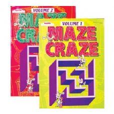 48 Units of KAPPA MAZE CRAZE Puzzle Book - Crosswords, Dictionaries, Puzzle books
