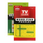 72 Units of KAPPA TV Guide Word Finds & Crossword Puzzles Book - Digest Size - Crosswords, Dictionaries, Puzzle books