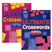 96 Units of KAPPA Ultimate Crossword Puzzle Book - Crosswords, Dictionaries, Puzzle books