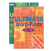 96 Units of KAPPA Ultimate Word Finds Puzzle Book - Crosswords, Dictionaries, Puzzle books