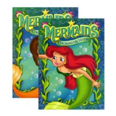 48 Units of MERMAIDS Coloring & Activity Book - Coloring Books