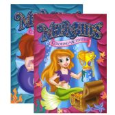 48 Units of MERMAIDS FOIL & EMBOSSED Coloring & Activity Book - Coloring Books