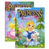 48 Units of PRINCESS FOIL & EMBOSSED Coloring & Activity Book - Coloring Books