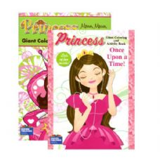 48 Units of PRINCESS Giant Coloring & Activity Books - Coloring Books