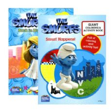 48 Units of SMURFS THE MOVIE Giant Coloring & Activity Book - Coloring Books