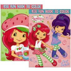 48 Units of STRAWBERRY SHORTCAKE Coloring Book - Coloring Books