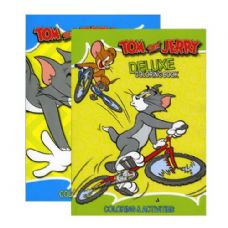48 Units of TOM & JERRY Coloring & Activity Book - Coloring Books
