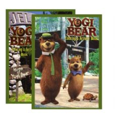 48 Units of YOGI BEAR Coloring & Activity Book - Coloring Books