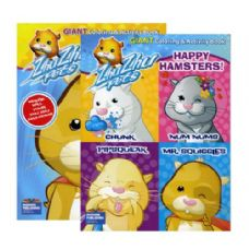 48 Units of ZHU ZHU PETS Giant Coloring & Activity Book - Coloring Books