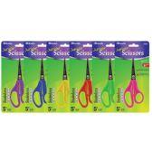 """144 Units of BAZIC 5"""" Pointed Tip School Scissors - Scissors"""