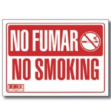 "144 Units of 9"" X 12"" No Fumar Sign - Signs & Flags"