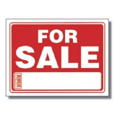 "144 Units of 9"" X 12"" For Sale Sign - Signs & Flags"