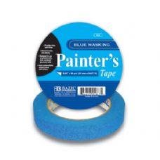 """36 Units of BAZIC 0.94"""" X 2160"""" (60 Yards) Blue Painter's Masking Tape - Tape"""