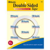 """144 Units of BAZIC 1"""" X 20 Yard (720"""") Double Sided Tape - Tape"""