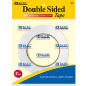 """144 Units of BAZIC 1"""" X 36 Yard (1296"""") Double Sided Tape - Tape"""