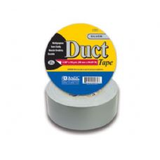 """48 Units of BAZIC 1.89"""" X 60 Yards Silver Duct Tape - Tape"""