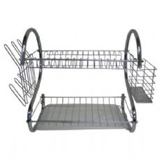 10 Units of Stainless Steel Dish Rack - Dish Drying Racks
