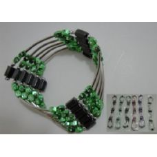 """144 Units of 36"""" Magnetic Necklace-Rods & Beads - Necklace"""