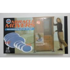 48 Units of 8pc Miracle Movers - Home Accessories