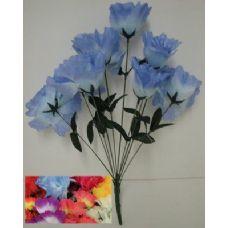 100 Units of 9 Head Open Flower - Artificial Flowers