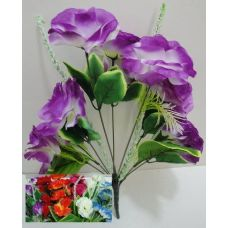 100 Units of 9 Head Silk Flower - Artificial Flowers