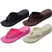36 Units of Ladies' Wedge Sandals