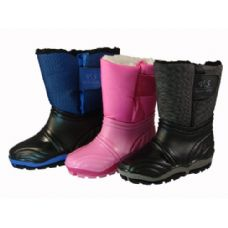 24 Units of Kid's Water Proof Snow Boot - Girls Boots