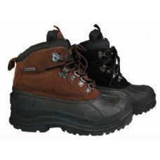 12 Units of  Men's Water proof Snow Boots - Men's Work Boots