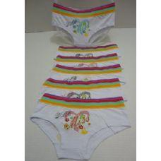 48 Units of Ladies Panties-MISS [Rainbow Striped Waistband] - Womens Panties & Underwear