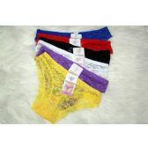 120 Units of Ladies Lace Panty - Womens Panties & Underwear