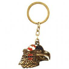 48 Units of Keychain Eagle Head - Key Chains