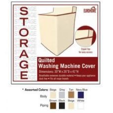 36 Units of QUILTED WASHING MACHINE COVER 4 ASSORTED COLORS - Laundry Baskets & Hampers