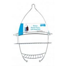 8 Units of Deluxe Shower Caddy With Soap Dish - Shower Accessories