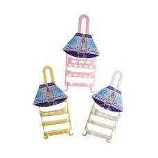 72 Units of Plastic Shower Caddy (Assorted Colors) - Shower Accessories