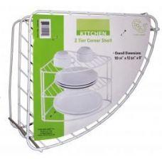 18 Units of 2 Tier Corner Shelf - Kitchen Gadgets & Tools